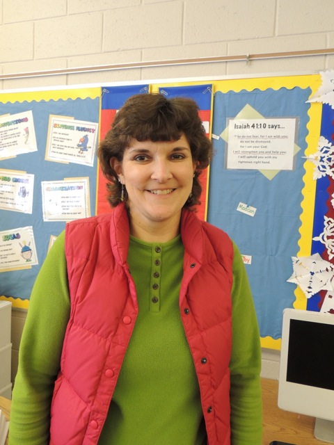 Mrs. Teresa Post,  Elementary Parapro