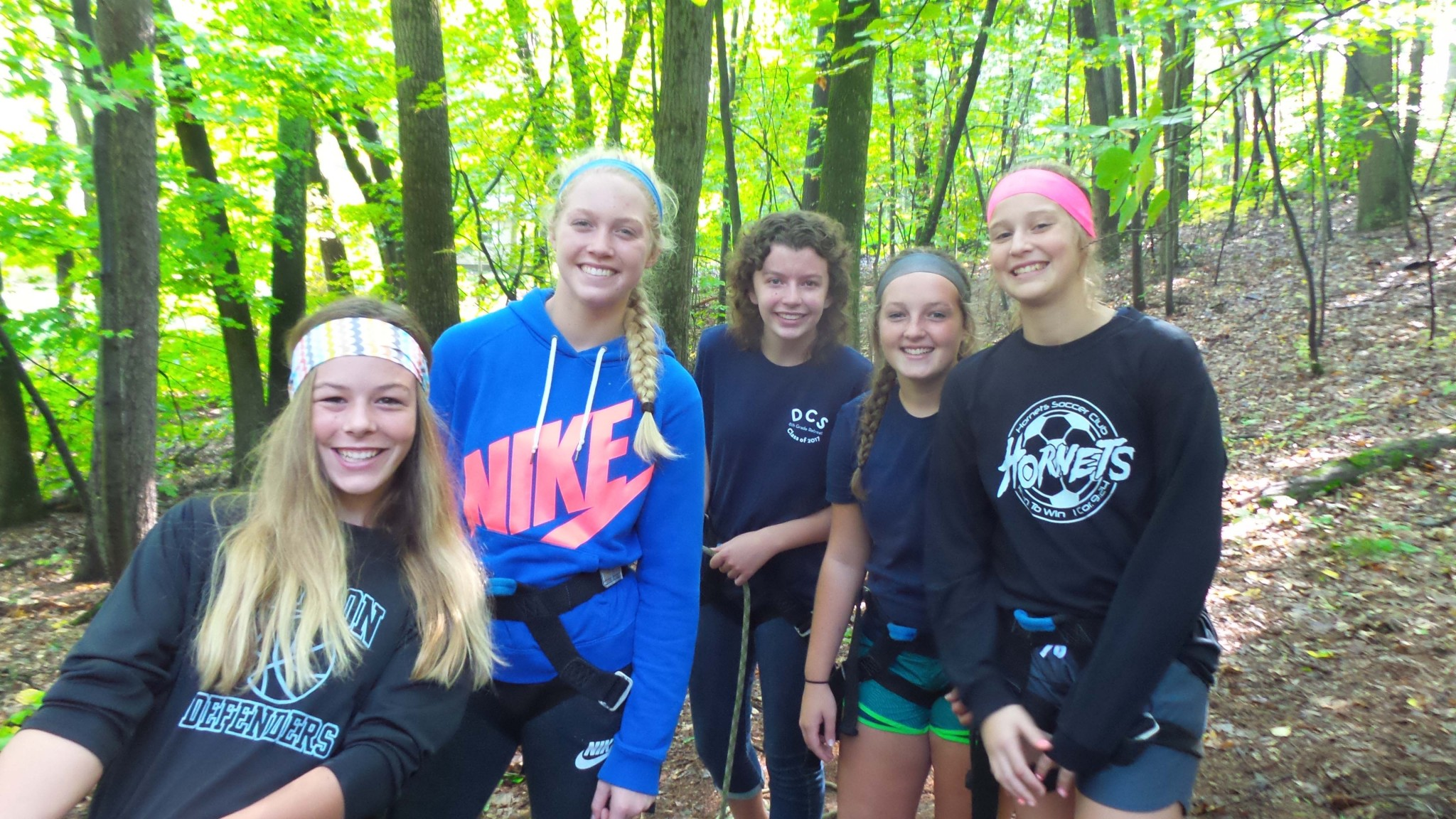 8th Grade Camp Roger Ropes Course Dutton Christian School